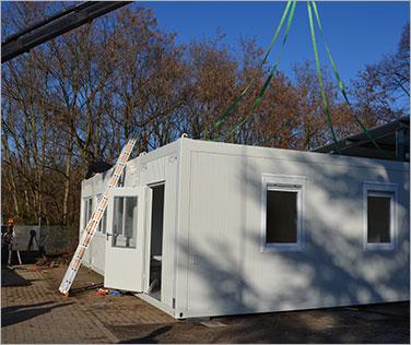 Mobile Raumsysteme Mieten Containeranlagen Mit System